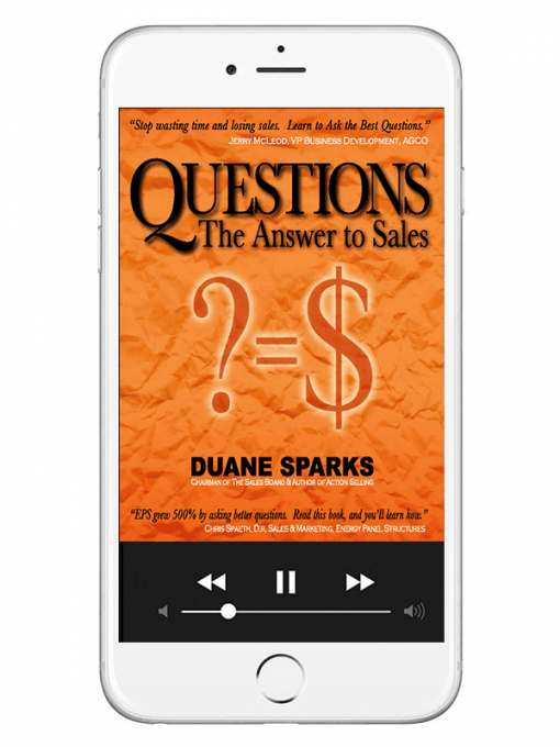 Questions The Answer to Sales Book