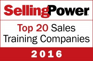 Top20SalesTraining2016 300x197 - Action Selling Again Named Top 20 Sales Training Company by Selling Power