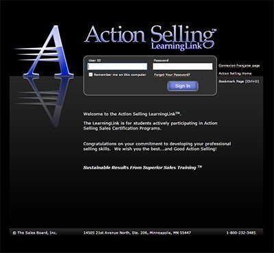 ll - Action Selling Differentiators: #2 Online LearningLink