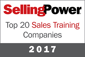 Top20SalesTraining2017 300 - 2017 Selling Power Top 20 Sales Training Company