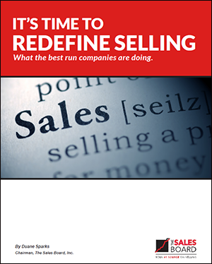 redefine cover - Landing: It's Time To Redefine Selling Whitepaper