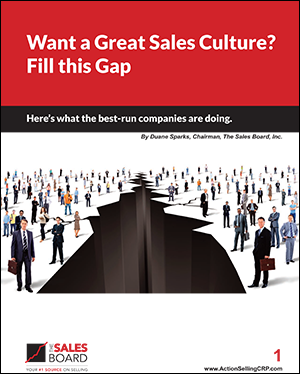 gap 300 - Landing: Want a Great Sales Culture? Fill this Gap