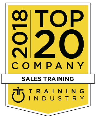 2018 Top20 sales training Web Large - 2018 Training Industry Top 20 Sales Training Company
