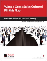 sales culture gap wp - Sales White Papers