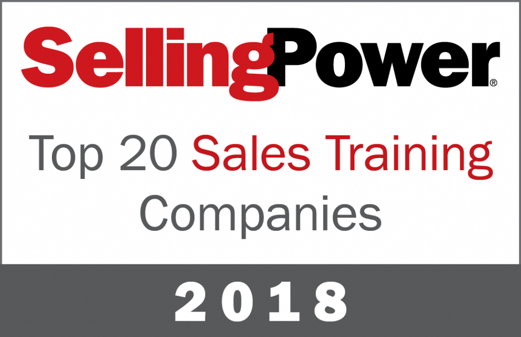 Top20SalesTraining2018 1024x663 - 2018 Selling Power Top 20 Sales Training Company