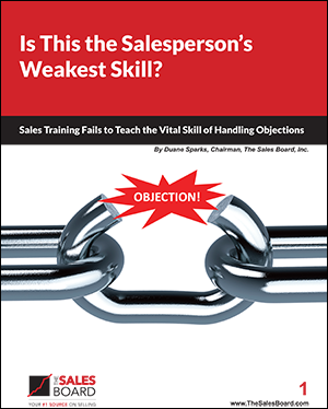 WP Handling Objections 300 - Landing: Is This the Salesperson's Weakest Skill White Paper