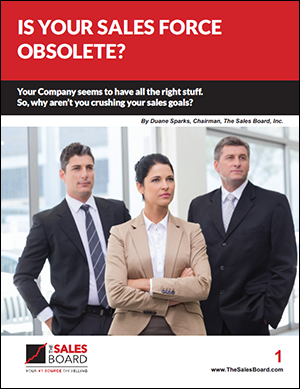 obsolete 300 - Landing: Is Your Sales Force Obsolete?