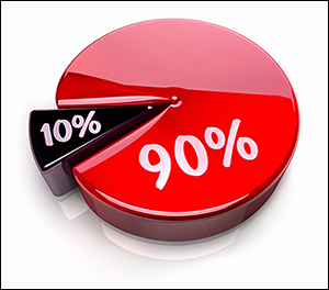 90 percent 300 - I Object! (To the Way You Define Objections)