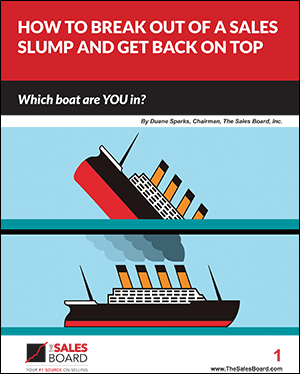 sales slump 300 - Landing: How to Break Out of A Sales Slump and Get Back On Top White Paper