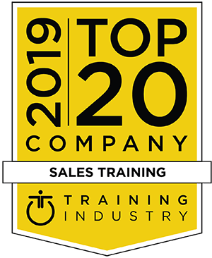 2019 Top20 ti med - 2019 Training Industry Top 20 Sales Training Company