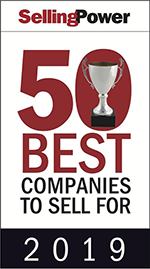 50 best - 2019 Selling Power's 50 Best Companies to Sell For