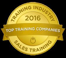 TI Top 20 Badges SalesTraining large 225 - Industries - Training Industry Register