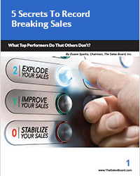 5 secrets to record breaking sales200 - Sales White Papers