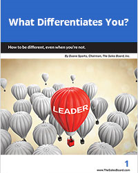 What Differentiates You WP 200 - Sales White Papers
