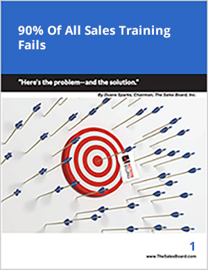 90 percent 300 - Landing: 90% of All Sales Force Training Fails Whitepaper